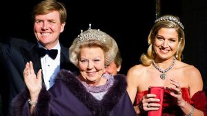 King Willem-Alexander, Princess Beatrix, Queen Maxima