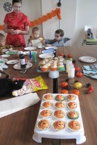 Creepy halloween cupcakes!
