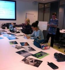 Examining different photographic principles