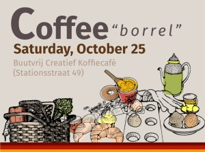 Coffee borrel invite