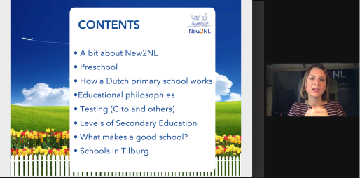 Tilburg International Club Education webinar